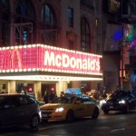 McDonald's @ Broadway with many light bulbs!