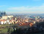 View from Petrin Hill Prague