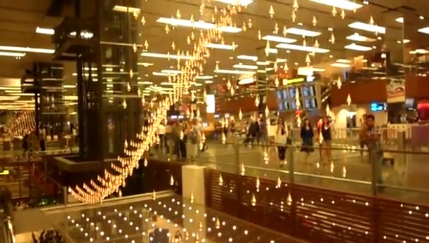 Kinetic Rain Changi Airport Terminal 1