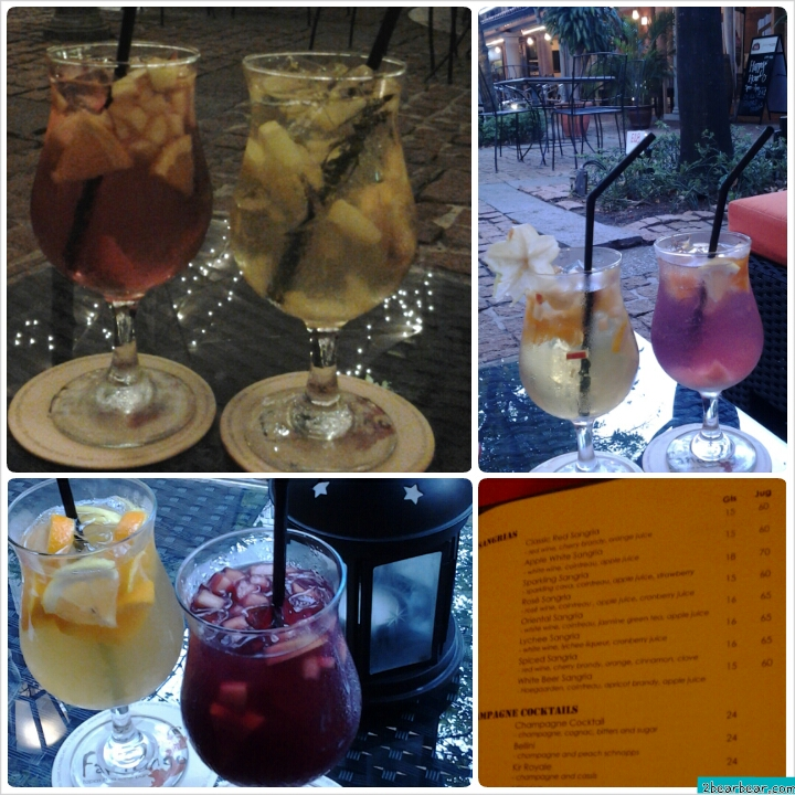 1-for-1 Happy Hour Sangrias at Fandango Chijmes
