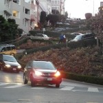 Crookedest Street in San Francisco Lombard Street