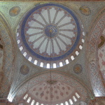 Dome of Blue Mosque Istanbul