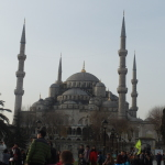 Exterior of Sultan Ahmed Mosque aka Blue Mosque