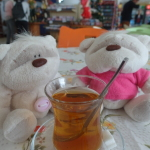 Apple tea for 2 TL at our rest stop