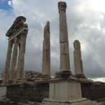 Columns of acropolis 6 by 8 @ Pergamon