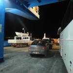 Ferry crossing straits to Canakkale