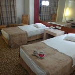 2bearbear and Twin sharing room of Lycus River Hotel Pamukkale