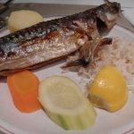 Must-Try Grilled mackerel at Tusan Hotel