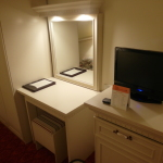 Dressing table and TV Tusan Hotel Canakkale