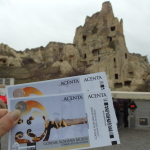 Entrance tickets to Goreme open air museum