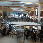 Food court inside Mall of Istanbul