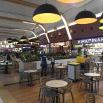 Restaurants at food court Mall of Istanbul