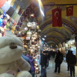 Tom at Grand Bazaar Istanbul