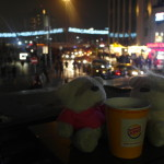 2bearbear and Taksim Square taken from burger king