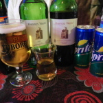 Free flow of wines beers teas and soft drinks