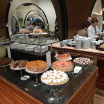 Coffee and desserts in Lounge Istanbul