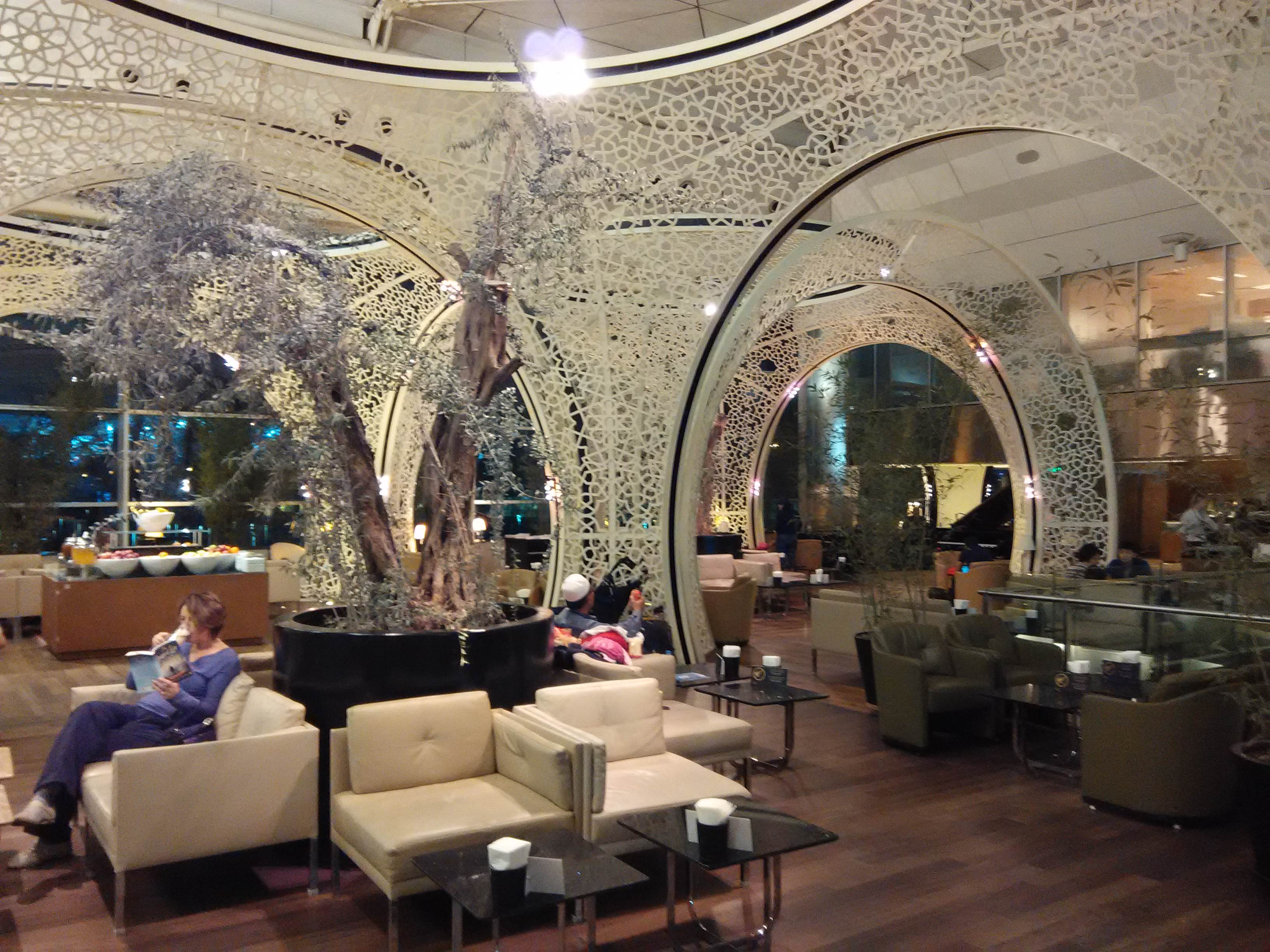Classy and Elegant Decor in Istanbul Lounge