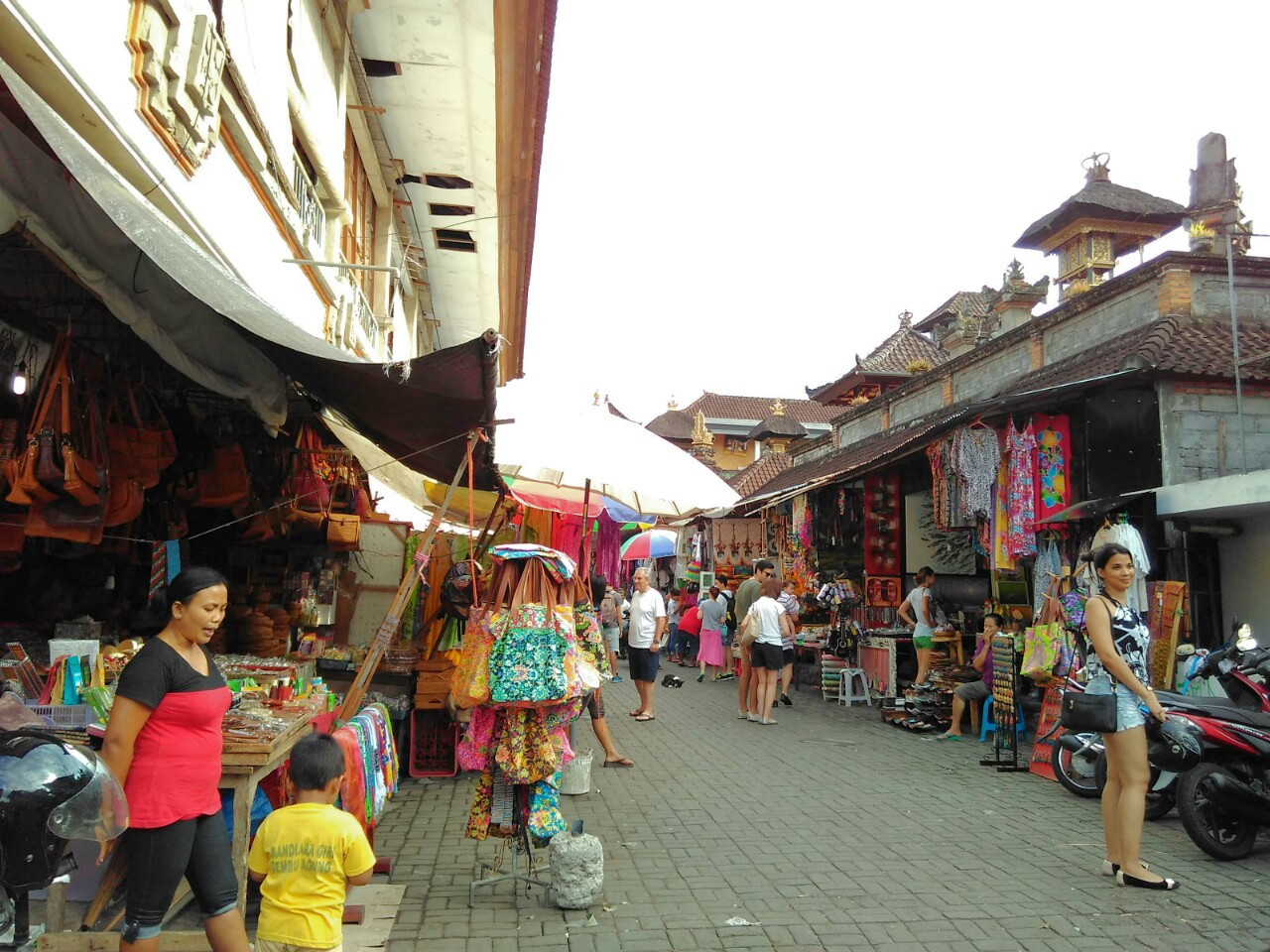 Shopping at Ubud Bali