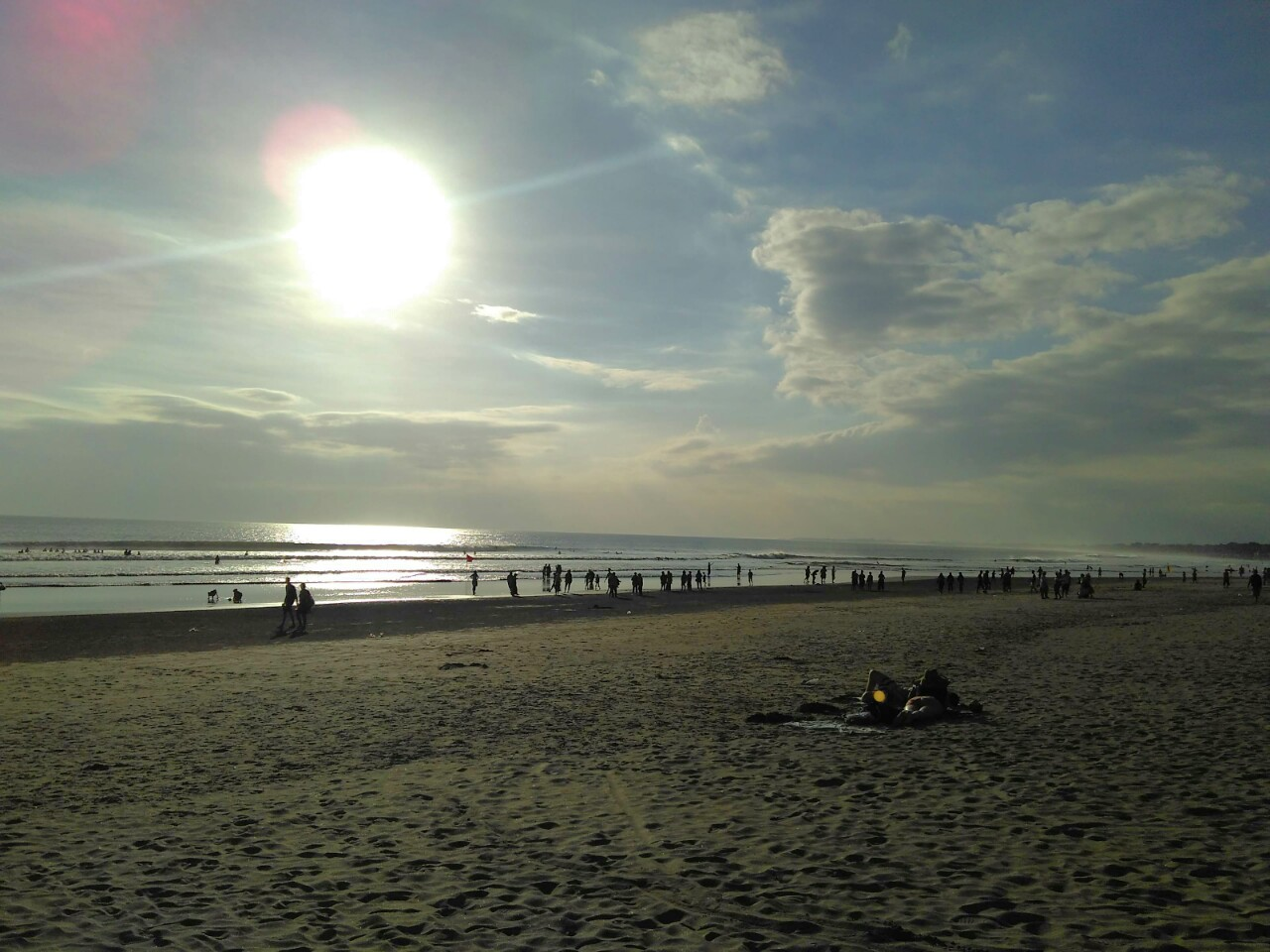 Sunset at Kuta Beach Bali