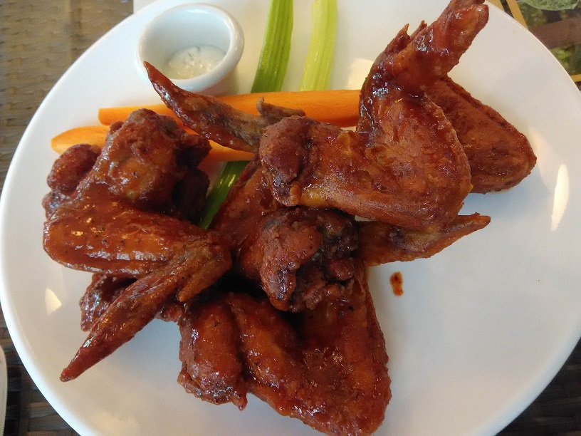 Buffalo Wings (6 pieces) Spiciness Level 3 The Cornerstone