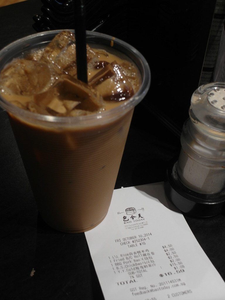 Iced Coffee with Tea Hong Kong Style