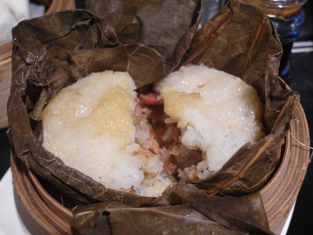 Lotus Leaf Glutinous Rice with Chicken