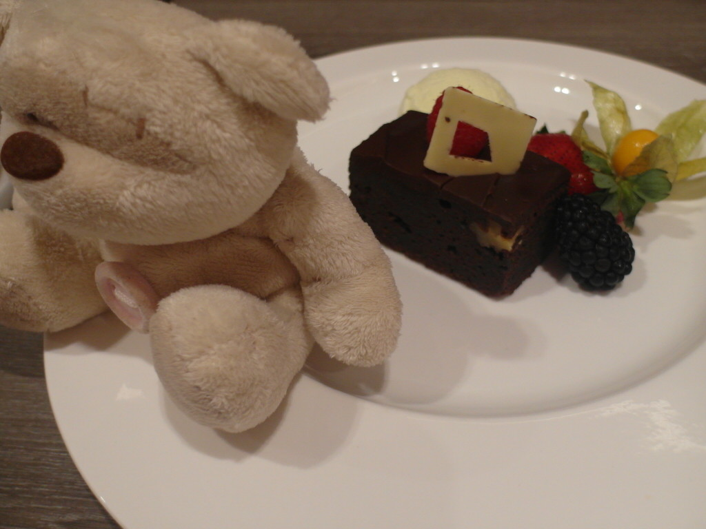 Chocolate Brownie @ Breez Bistro.Bar Grand Mercure Roxy