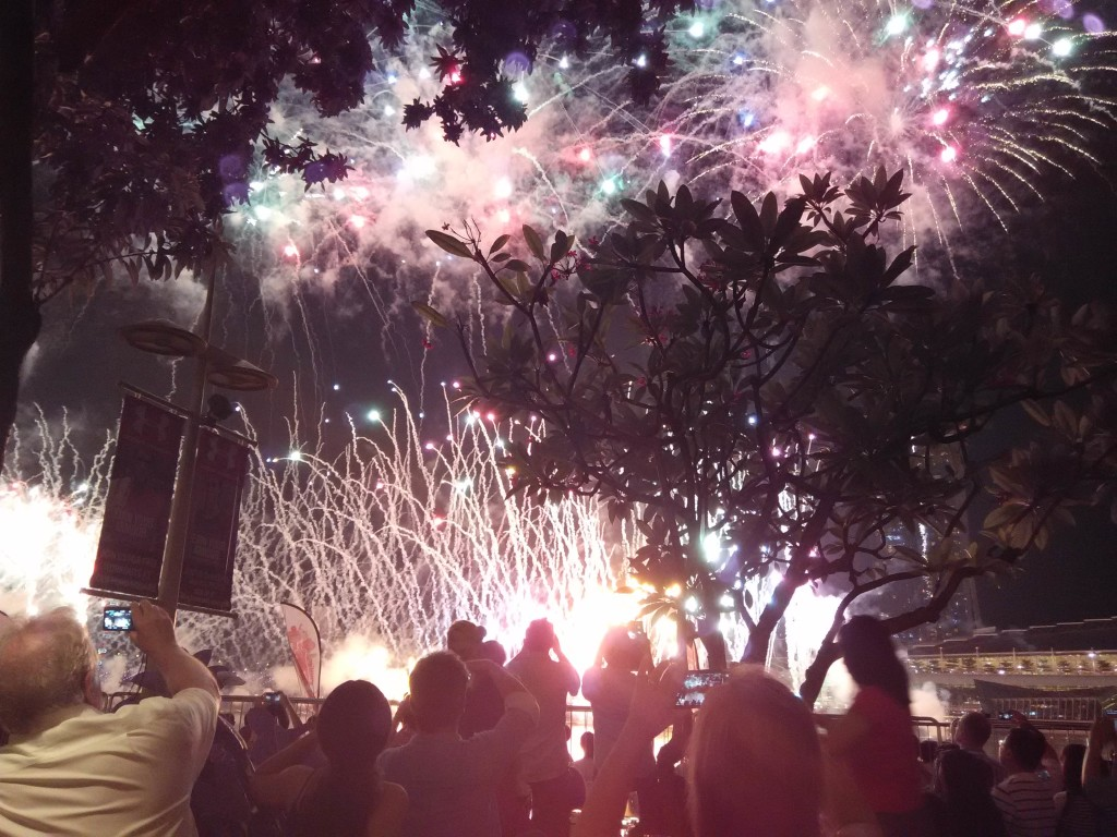 NDP 2015 Preview Fireworks
