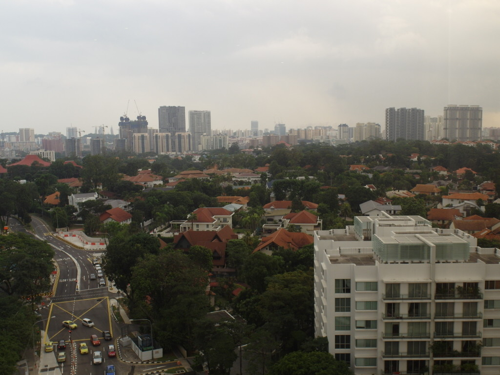 Unrestricted views from Hotel Jen Tanglin's Club Lounge