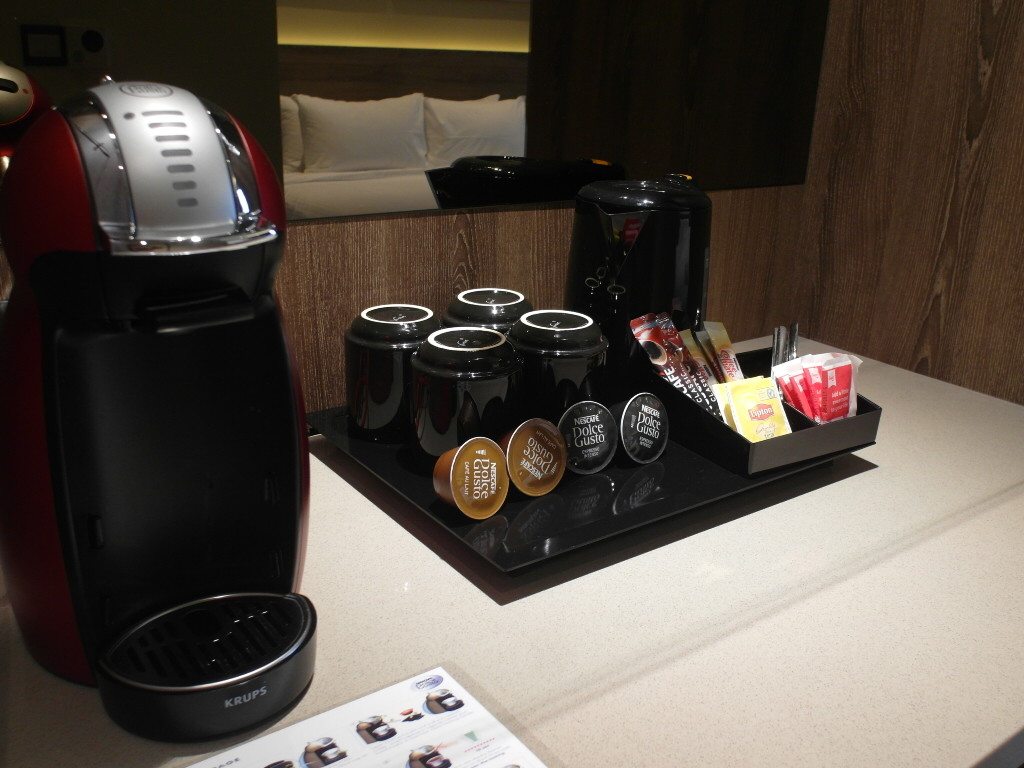 Nescafe Dolce Gusto Coffee Machine in Rainforest Executive Room D'Resort Downtown East