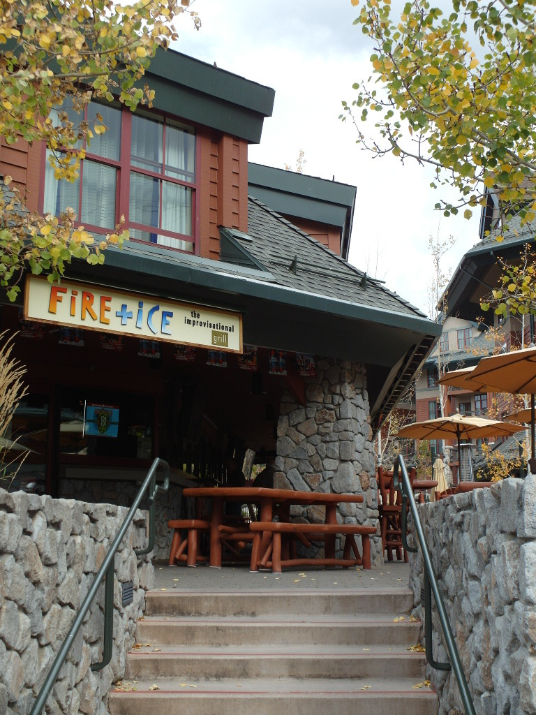 Fire+Ice Restaurant in Timber Lodge