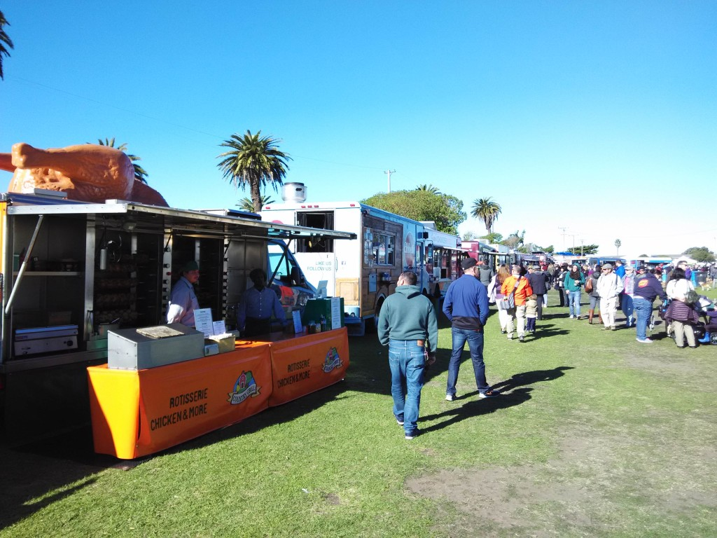 Food Trucks at Treasure Island Flea Market