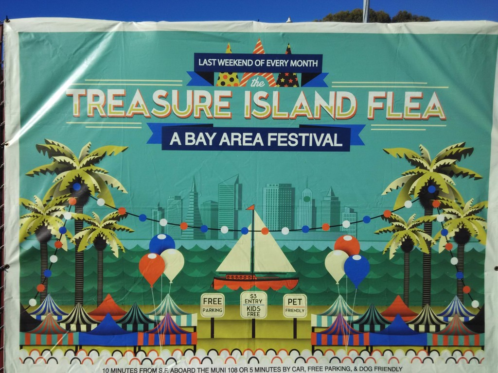 Treasure Island Flea Market San Francisco