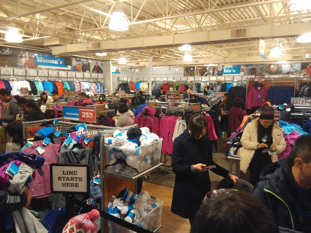 Columbia Black Friday Sales San Francisco Premium Outlets
