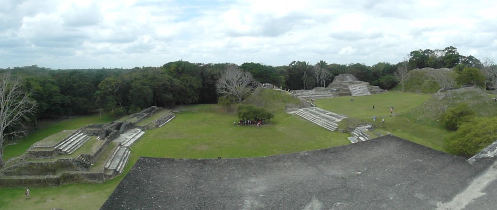 Panoramic view of Altun Ha Complex