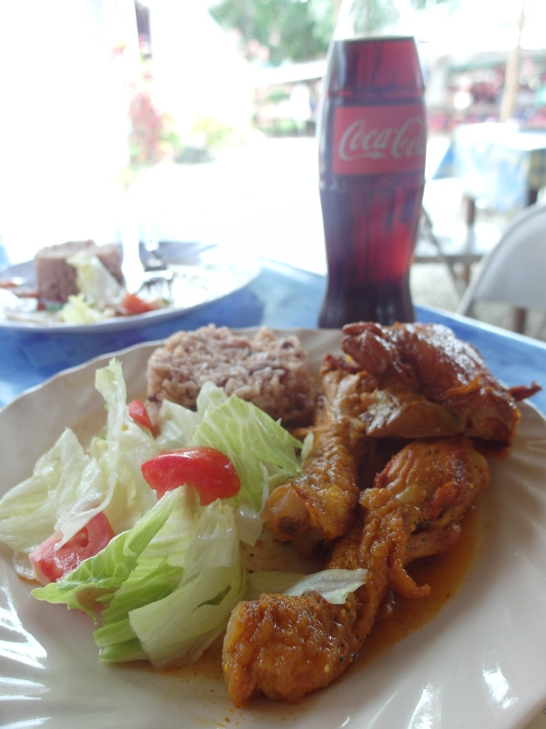 Typical Belize Meal