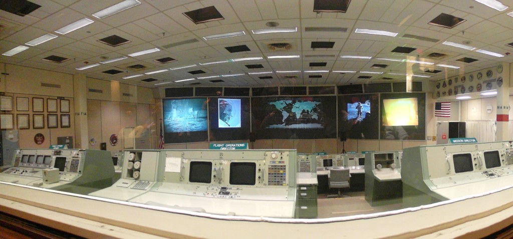 Panoramic of Historic Mission Control