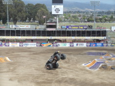 Max D Wheelie Winner Monster Jam Salinas 2016