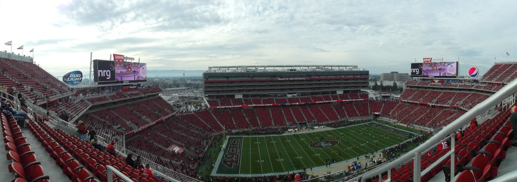 Panorama of Levi's Stadium