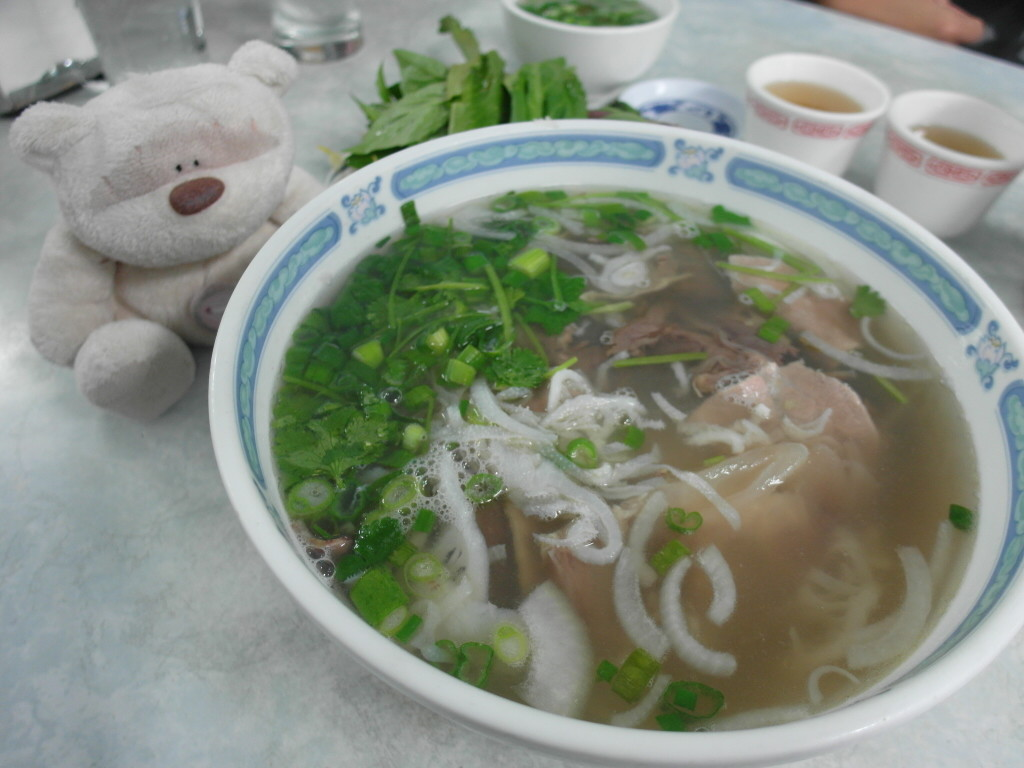 Special Beef noodles soup. Large bowl. $8.65. Good for 2!