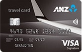 ANZ Travel Visa Signature Credit Card