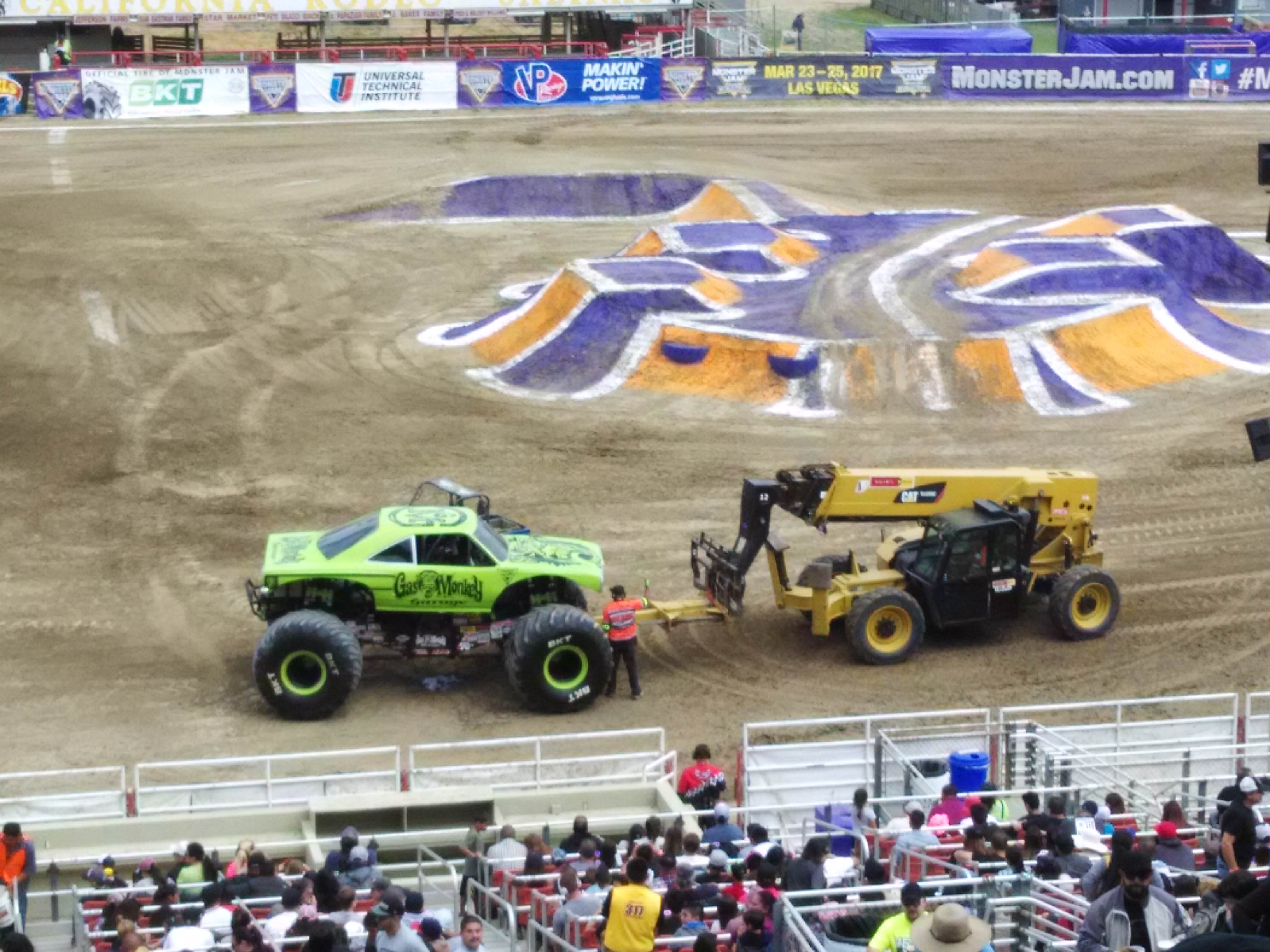 Monster Jam Gas Monkey