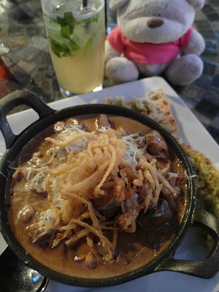 Steak and Shrooms Pappy McGregor's Paso Robles