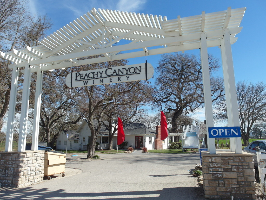 Peachy Canyon in Templeton Paso Robles Wine Tasting