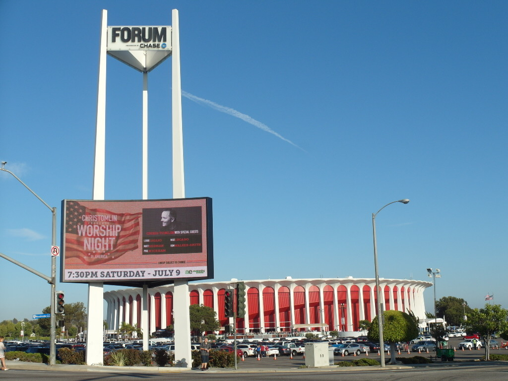 Worship Night in America at The Forum Los Angeles