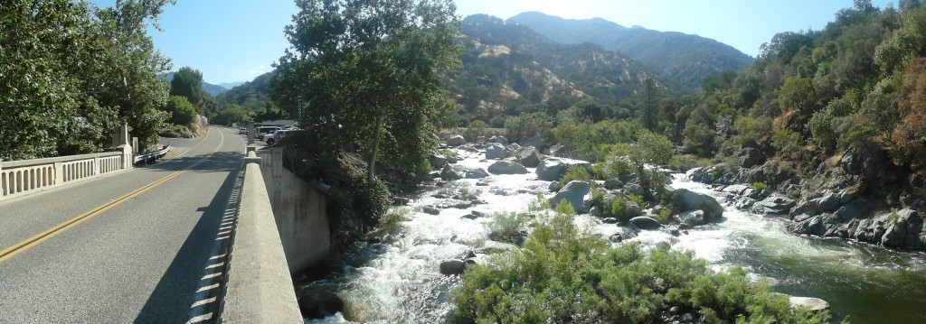 Rapids Entrance of Sequoia National Park
