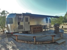 Air Stream Glamping at Mercey Hot Springs