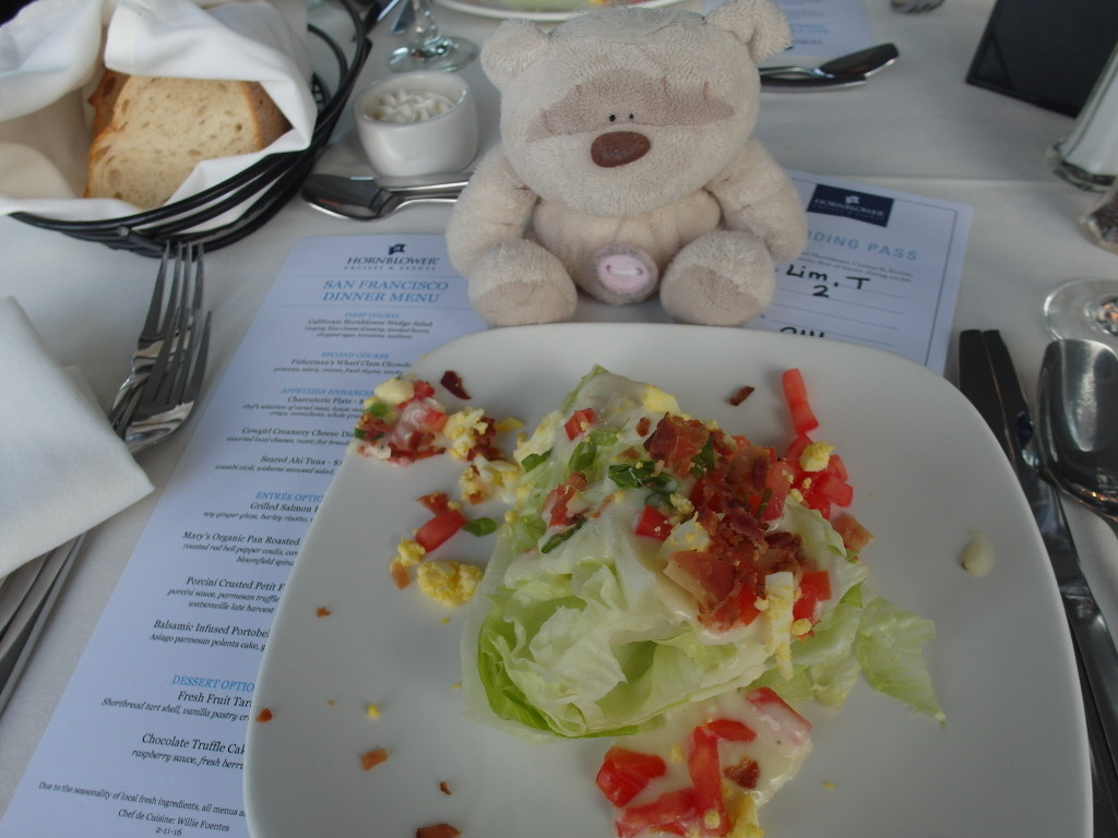 California Hornblower Wedge Salad
