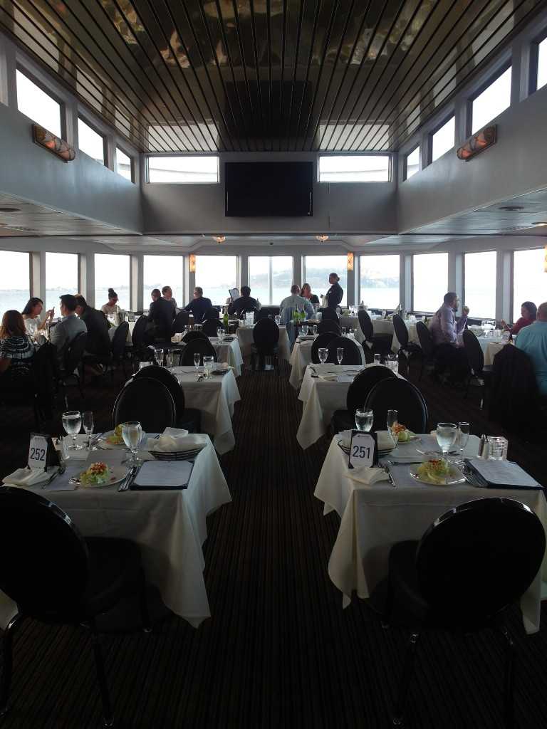 Dining Area California Hornblower San Francisco Bay Sunset Dinner Cruise