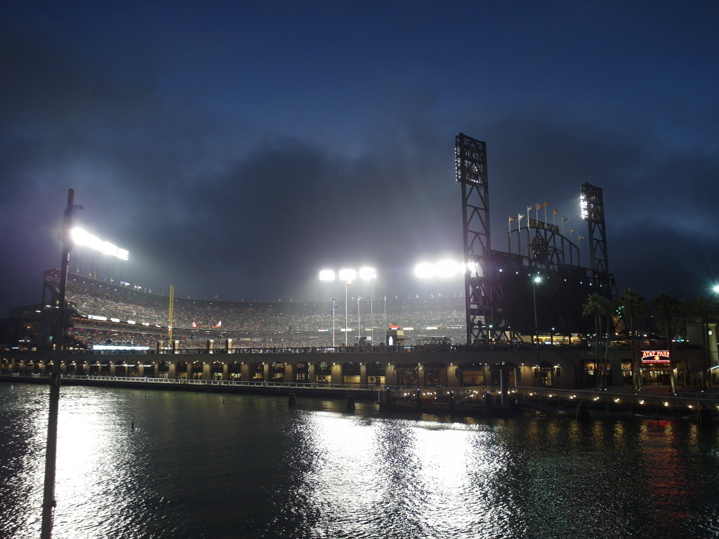 AT&T Park San Francisco Giants California Hornblower San Francisco Bay Sunset Dinner Harbour Cruise